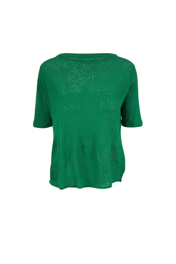 Majestic Emerald Green Relaxed Fit T-Shirt