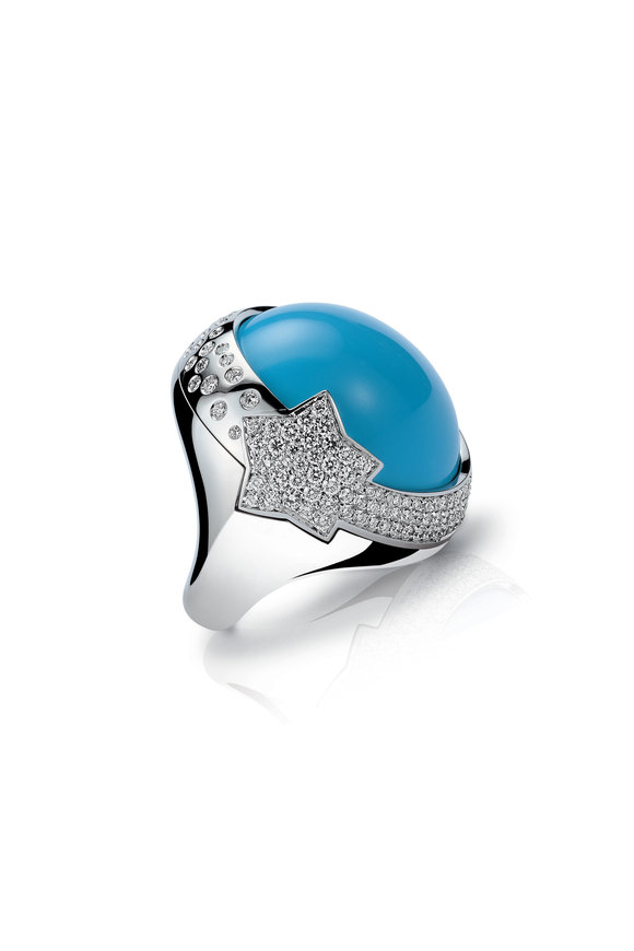 Pasquale Bruni Turquoise Cocktail Ring