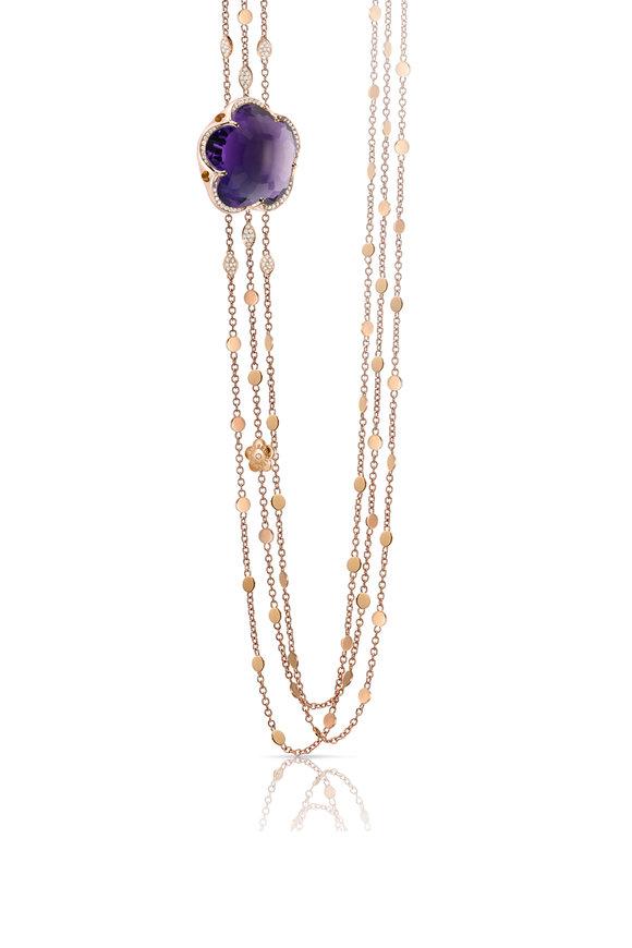 Pasquale Bruni 18K Gold Bon Ton Multi Chain Necklace