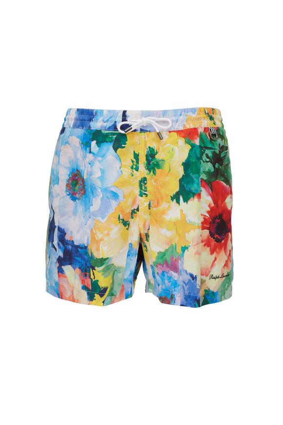 Ralph Lauren Multicolor Floral Swim Trunks