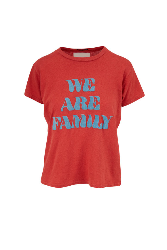 Mother Denim The Sinful We Are Family T-Shirt