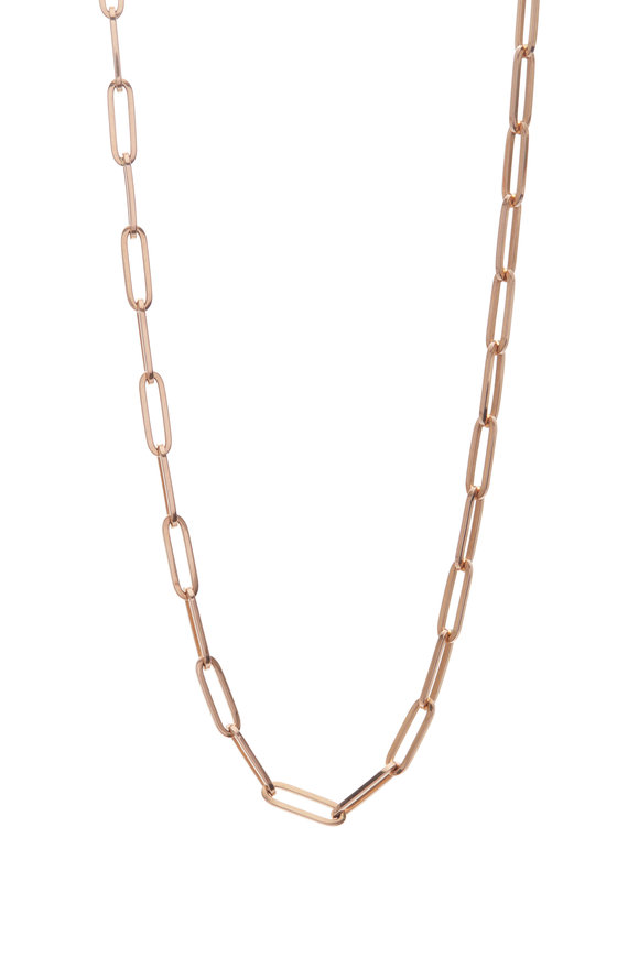Genevieve Lau 14K Rose Gold XL Link Chain