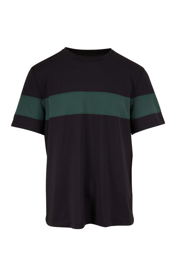 Fourlaps Smash Black & Green Short Sleeve T-Shirt