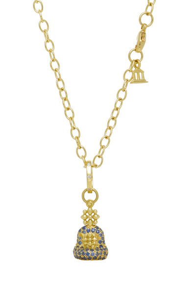 Temple St. Clair - Small Sitting Buddha Pendant