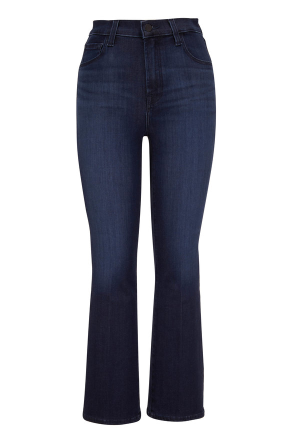 J Brand Franky Concept High-Rise Crop Boot Cut Jean