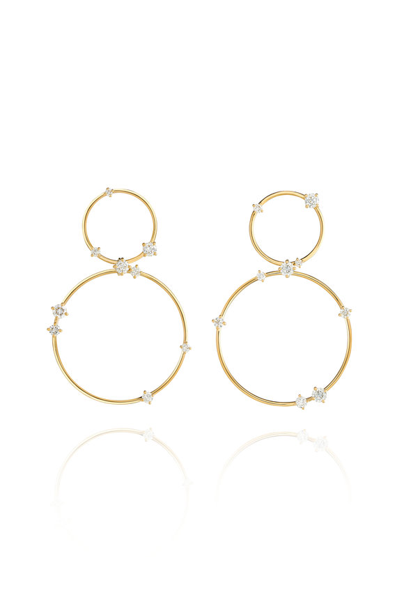 Fernando Jorge 18K Yellow Gold Large Circus Earrings