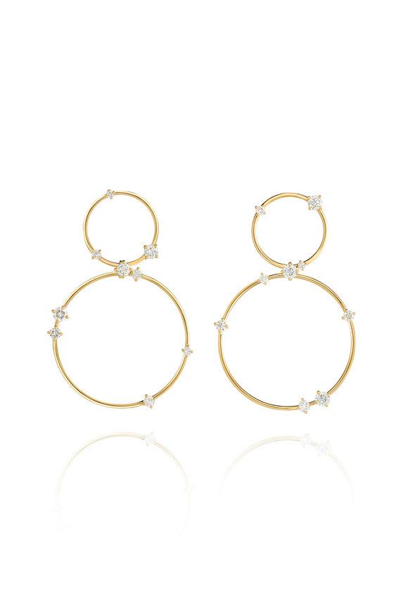 Fernando Jorge 18K Yellow Gold Large Circus Earrings