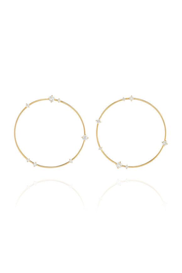 Fernando Jorge 18K Yellow Gold Large Solo Earrings