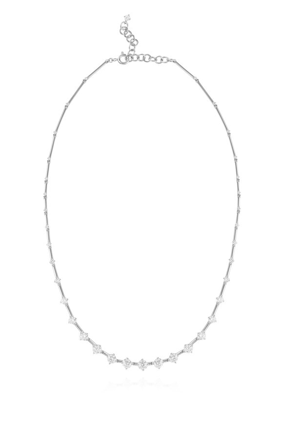 Fernando Jorge 18K White Gold Sequence Necklace