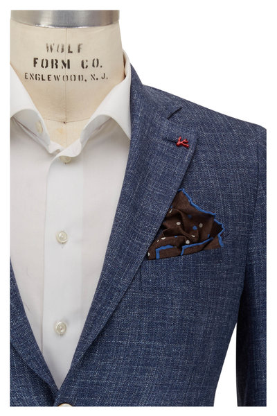 Isaia - Denim Textured Sport Coat