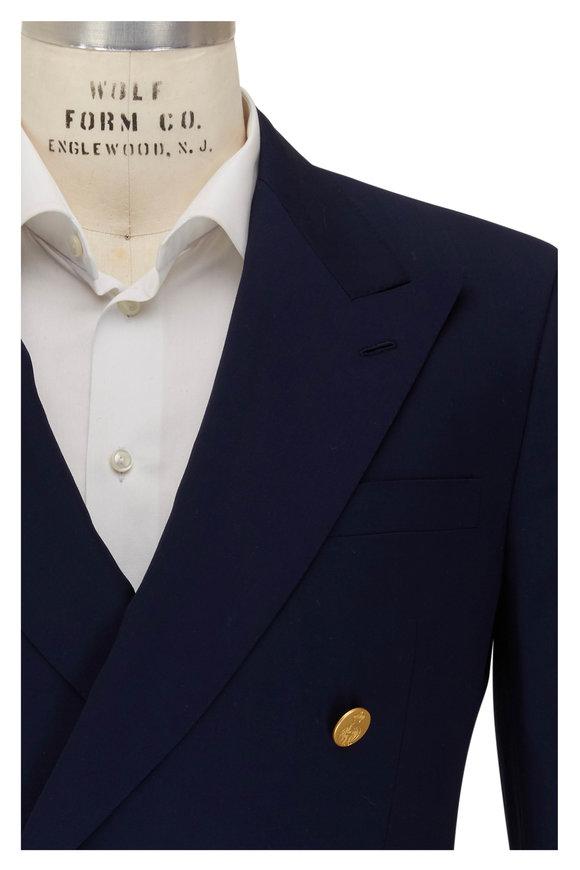 Ralph Lauren Navy Wool Sportcoat
