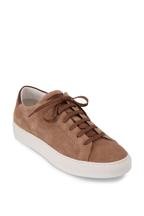 To Boot New York Pacer Sand Suede Sneaker