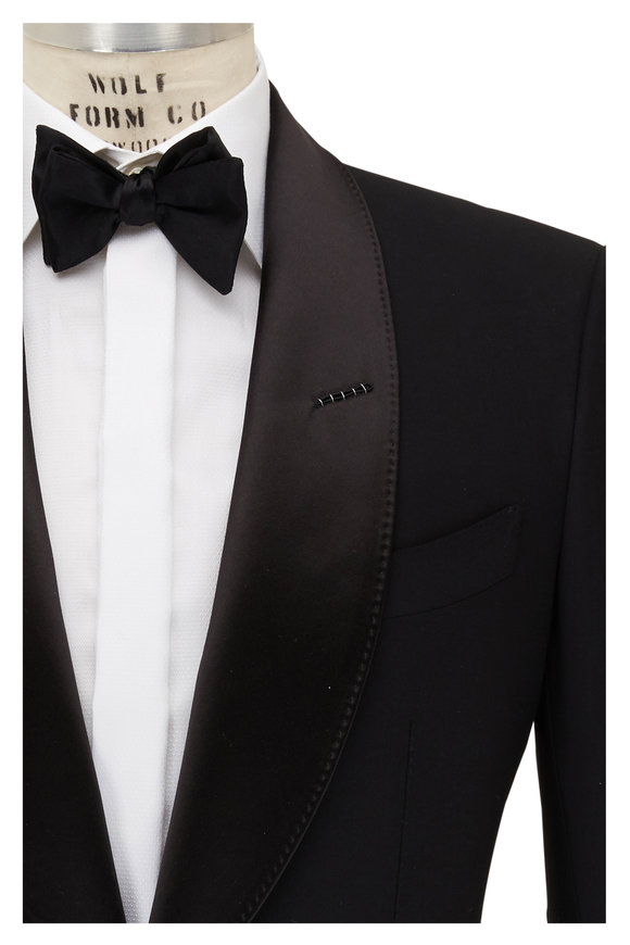 Tom Ford Dark Navy Bi-Stretch Wool Tuxedo