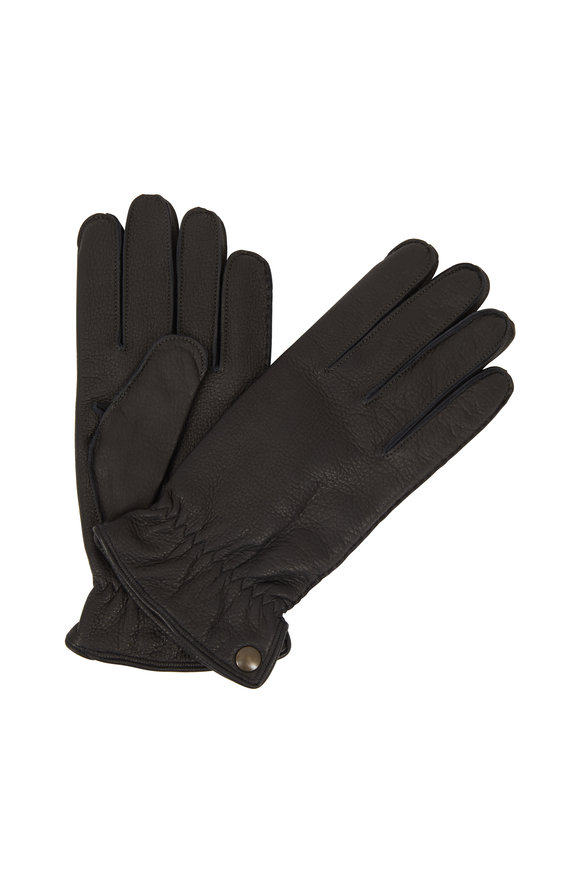 Labonia Black Deerskin Gloves