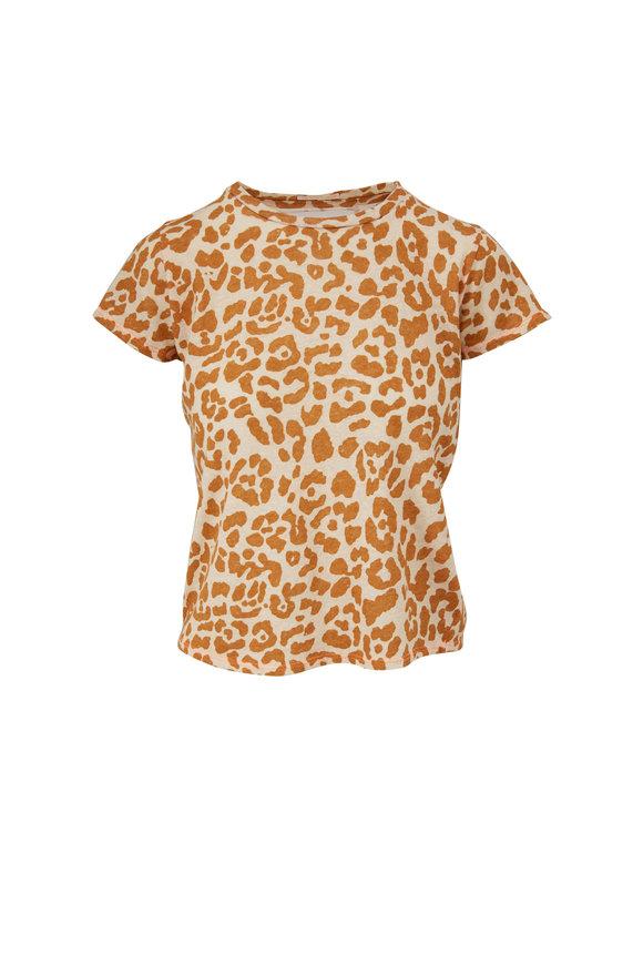 Mother Denim The Little Sinful Leopard Print T-Shirt