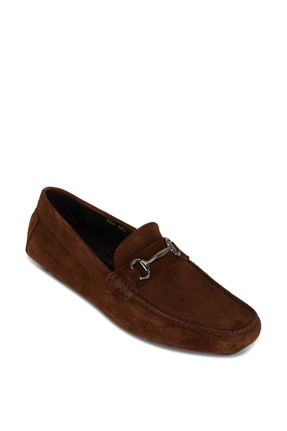 To Boot New York Keller Chocolate Suede Loafer