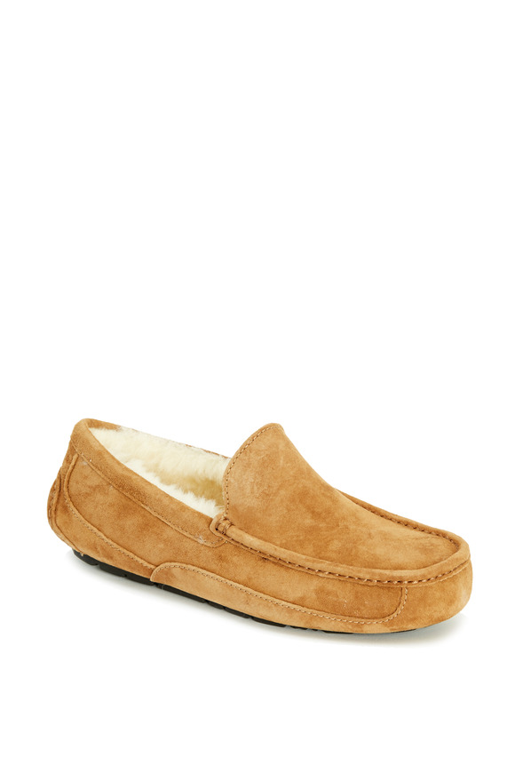 Ugg Ascot Light Brown Suede Slipper