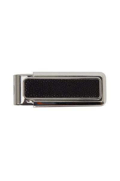 M-Clip - Stingray Black Steel Money Clip