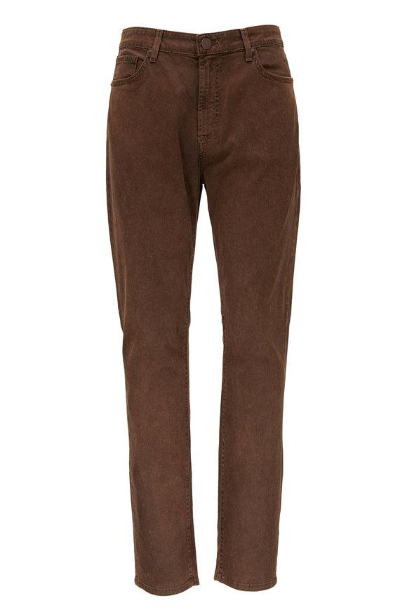 Monfrere Brando Cognac Vintage Waxed Five Pocket Pant