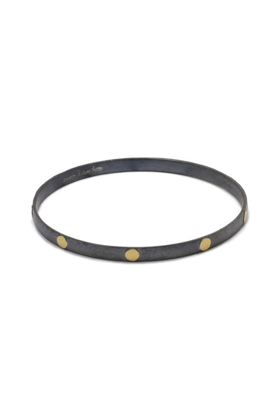 Gurhan - Silver Gold Bangle