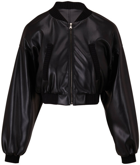 Dorothee Schumacher Sleek Dark Coffee Performance Jacket