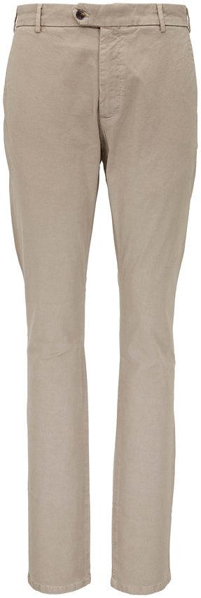 Peter Millar Concord Khaki Flat Front Pant