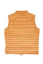 Peter Millar - Orange Hyperlight Quilted Vest