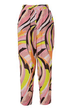 Pucci - Pink Print Cotton Pull On Pant