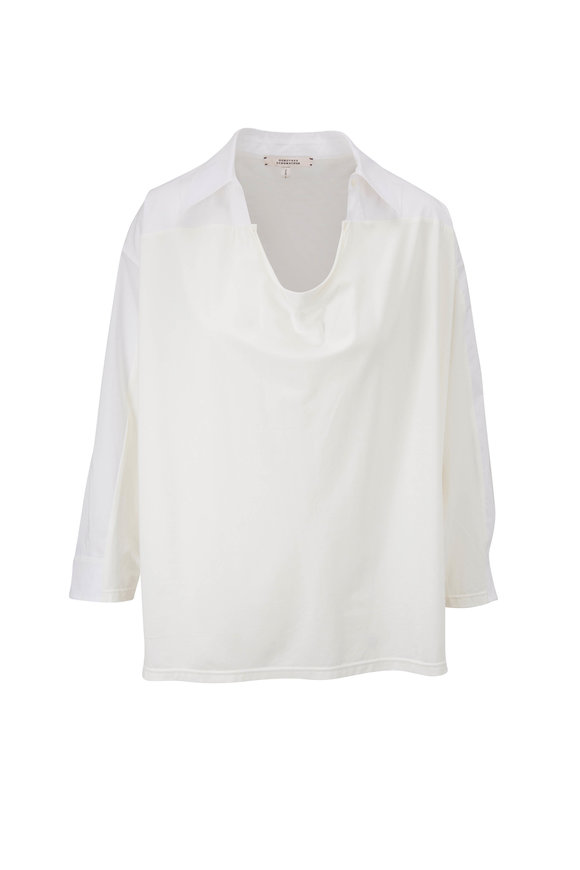 Dorothee Schumacher Cool Contrasts White Shirt