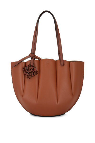 Loewe - Shell Tan Leather Small Tote