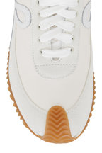 Loewe - Flow Runner Soft White Leather & Suede Runner