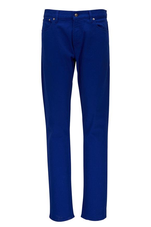 Ralph Lauren Royal Blue Five Pocket Slim Fit Jean