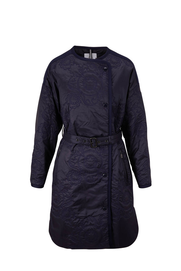 Bogner Aurela Fashion Navy Quilted Jacket