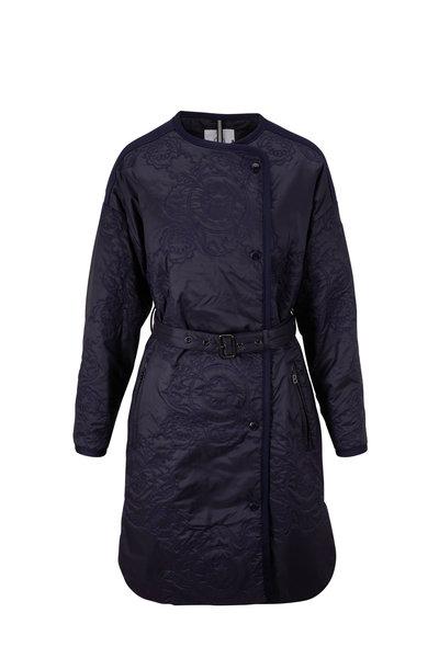 Bogner - Aurela Fashion Navy Quilted Jacket