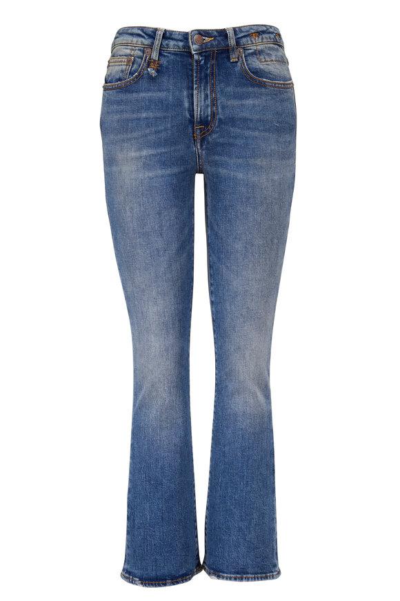 R13 Kick Fit Jasper Crop Flare Jean