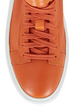 Santoni - Orange Leather Sneaker