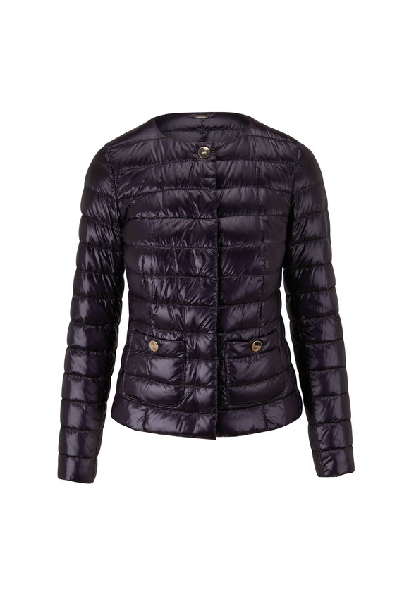 Herno Classic Black Fitted Puffer Jacket