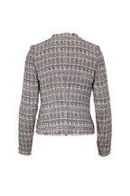 L'Agence - Adette Gray Tweed Blazer