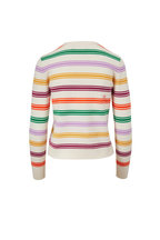 Chinti & Parker - Multicolor Stripe Wool & Cashmere Sweater