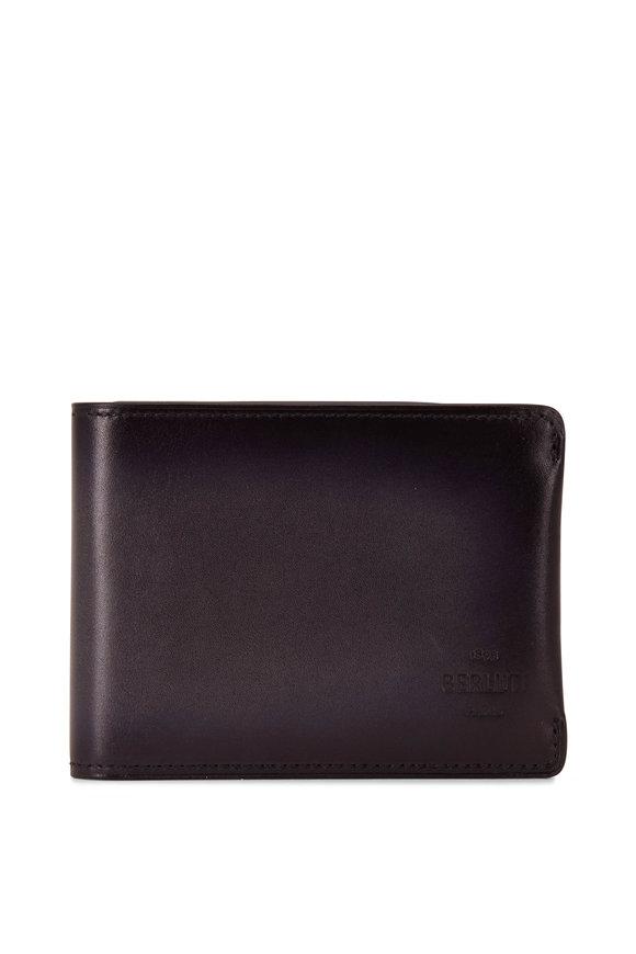 Berluti Essentiel Nero Leather Wallet