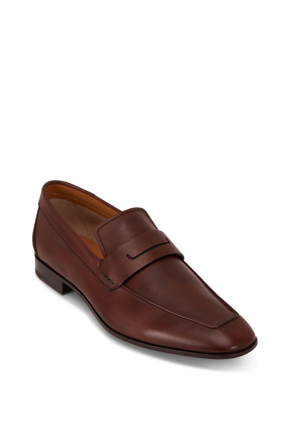 Berluti Brown Leather Loafer
