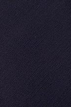 Ermenegildo Zegna - Solid Navy Silk Necktie
