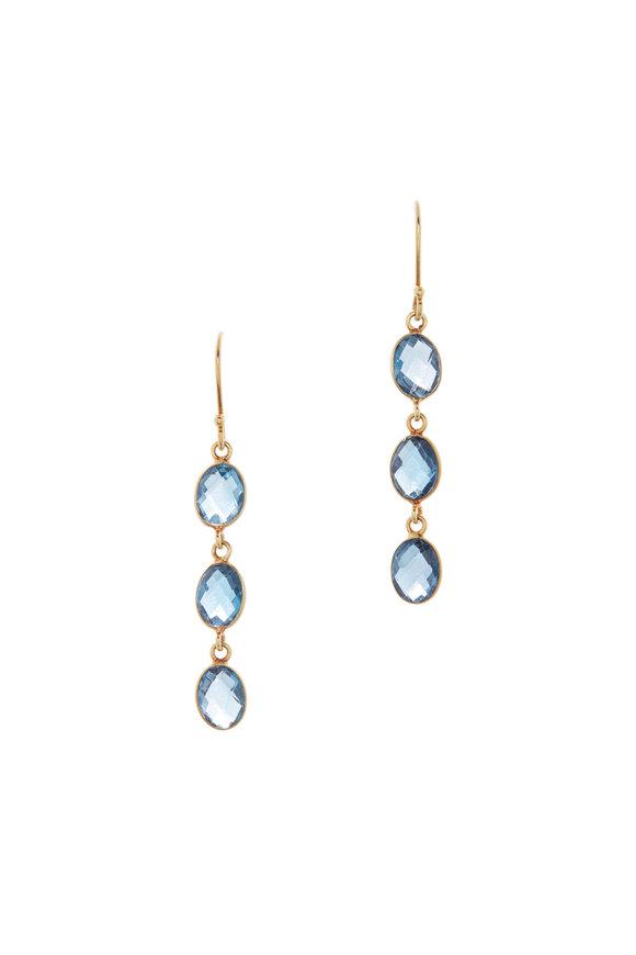 Loriann Triple Oval Dangle Earrings