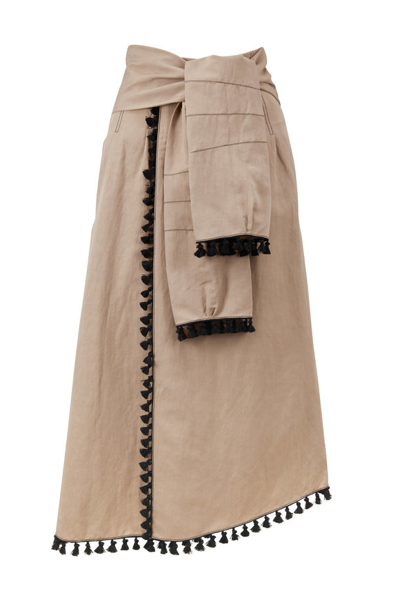 Dorothee Schumacher Into The Sun Beige Skirt