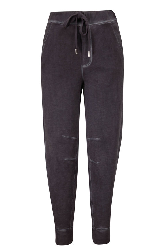 Veronica Beard Preslee Charcoal Relaxed Fit Sweatpant