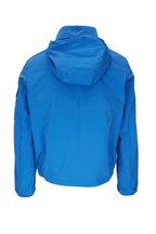 Moncler - Blue Nylon Front Zip Jacket