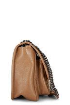 Saint Laurent - Niki Monogram Tan Leather Medium Chain Bag
