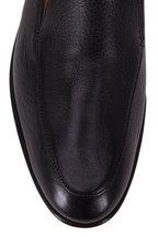 Gravati - Black Leather Moccasin