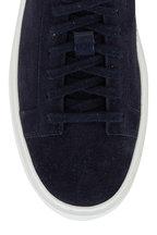 Santoni - Aphesis Navy Suede Sneaker