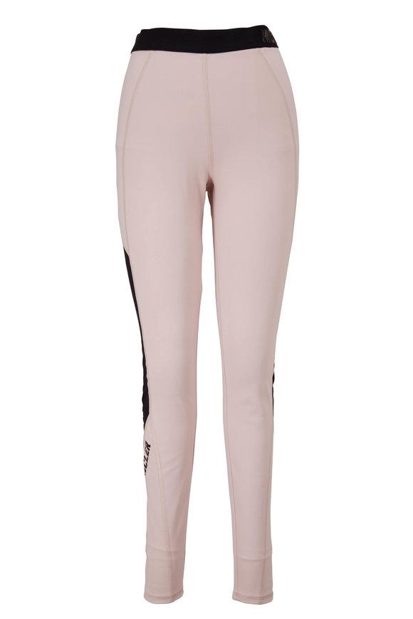 Moncler Blush Pink Logo Legging
